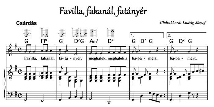 Favilla, fakanál
