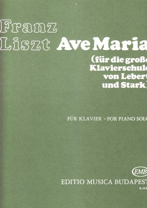 Liszt_Ave Maria.